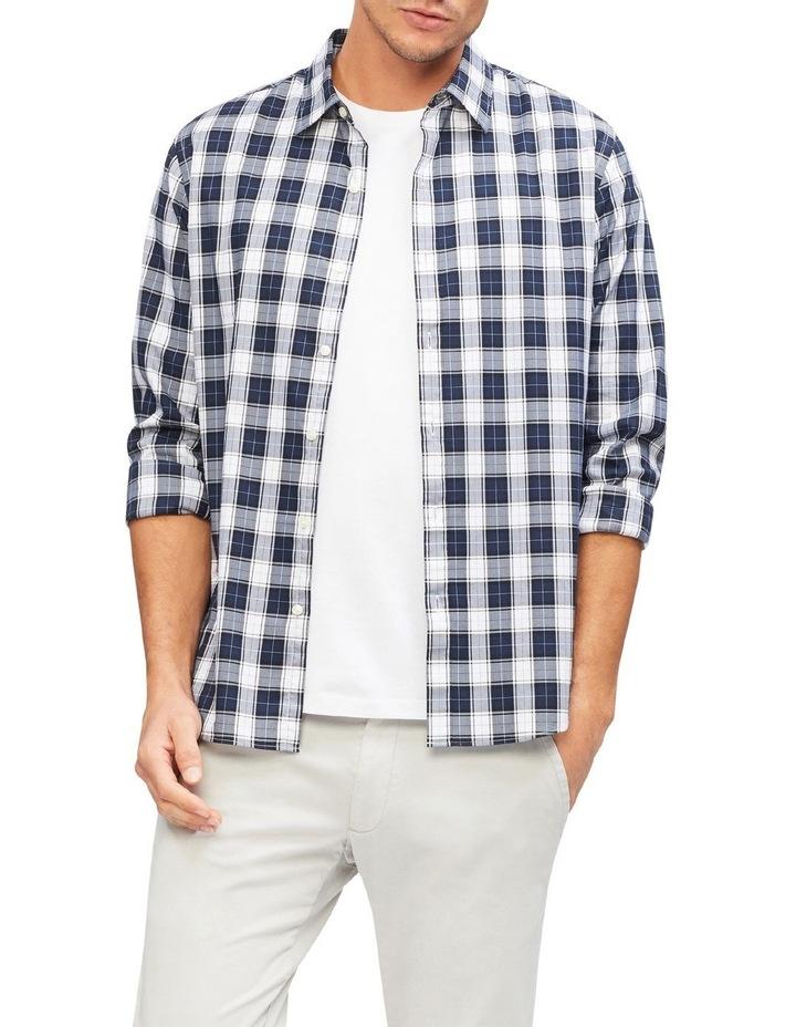 Herringbone Check Casual Shirt image 2