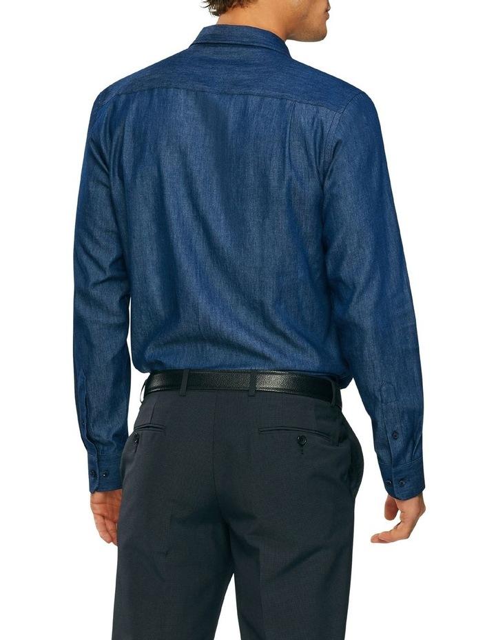 Washed Denim Casual Shirt image 2