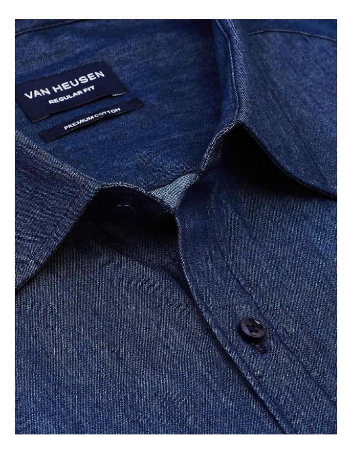 Washed Denim Casual Shirt image 3