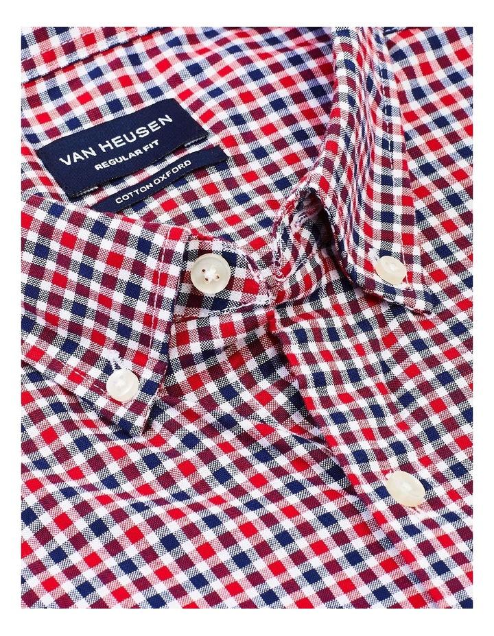 Gingham Check Casual Shirt image 4