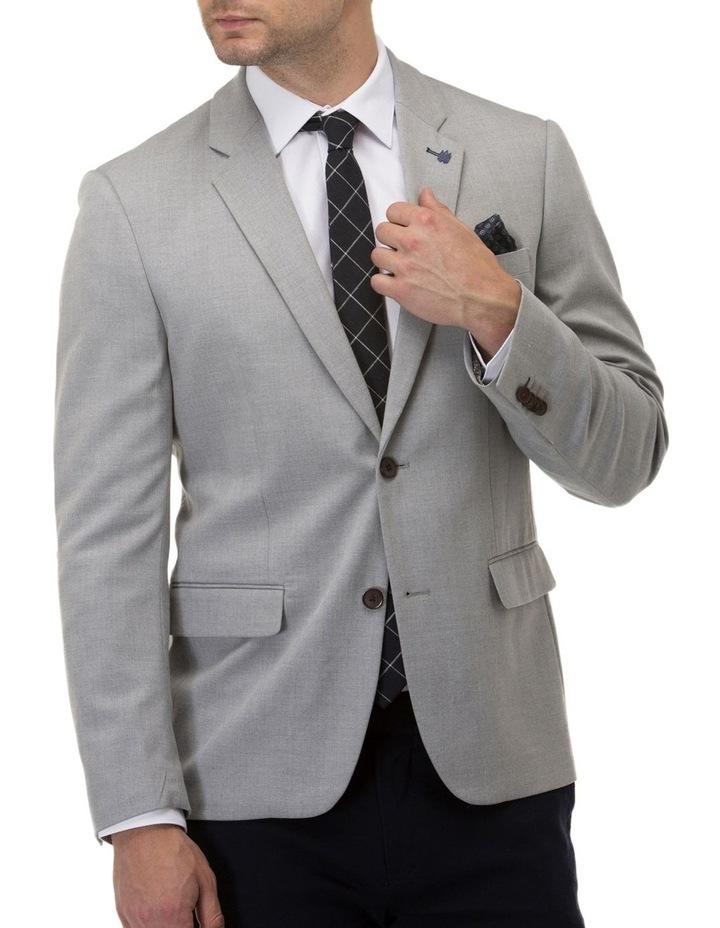 Stretch Textured Plain Blazer image 1