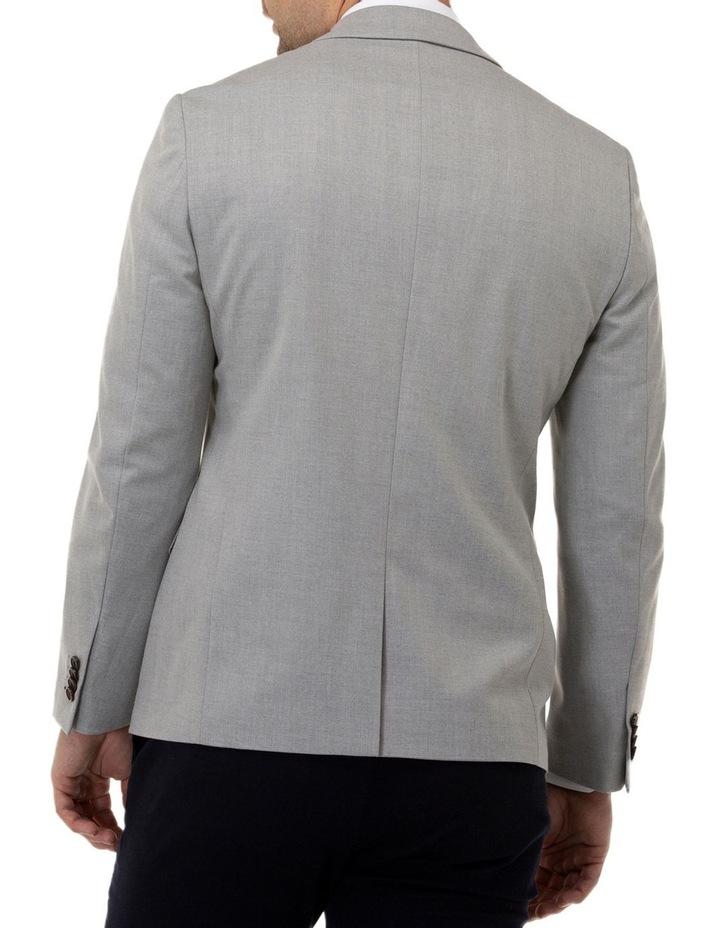 Stretch Textured Plain Blazer image 3