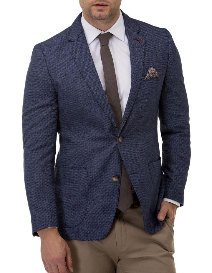 Multi Textured Weave Blazer image 1