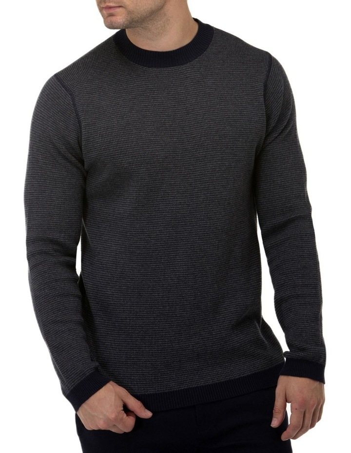 Two Tone Crew Neck Sweater image 1