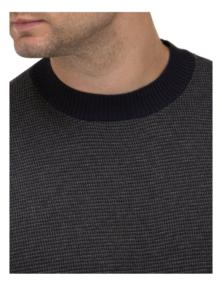 Two Tone Crew Neck Sweater image 2