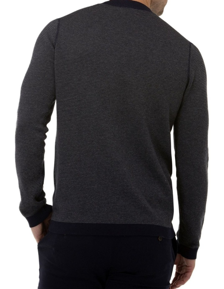 Two Tone Crew Neck Sweater image 3