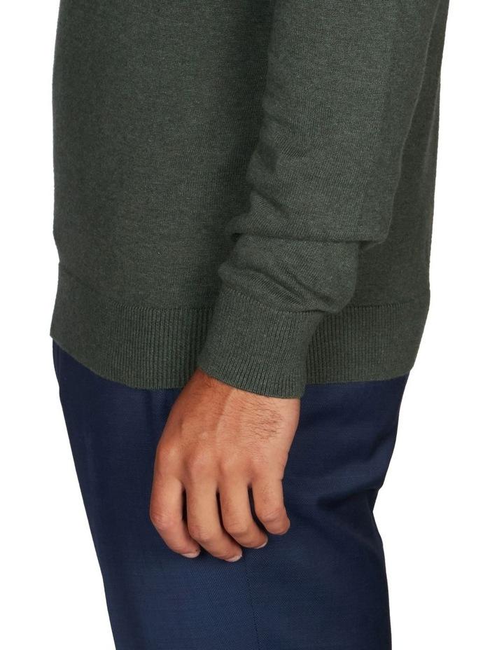 1/4 Zip Textured Knitwear image 3