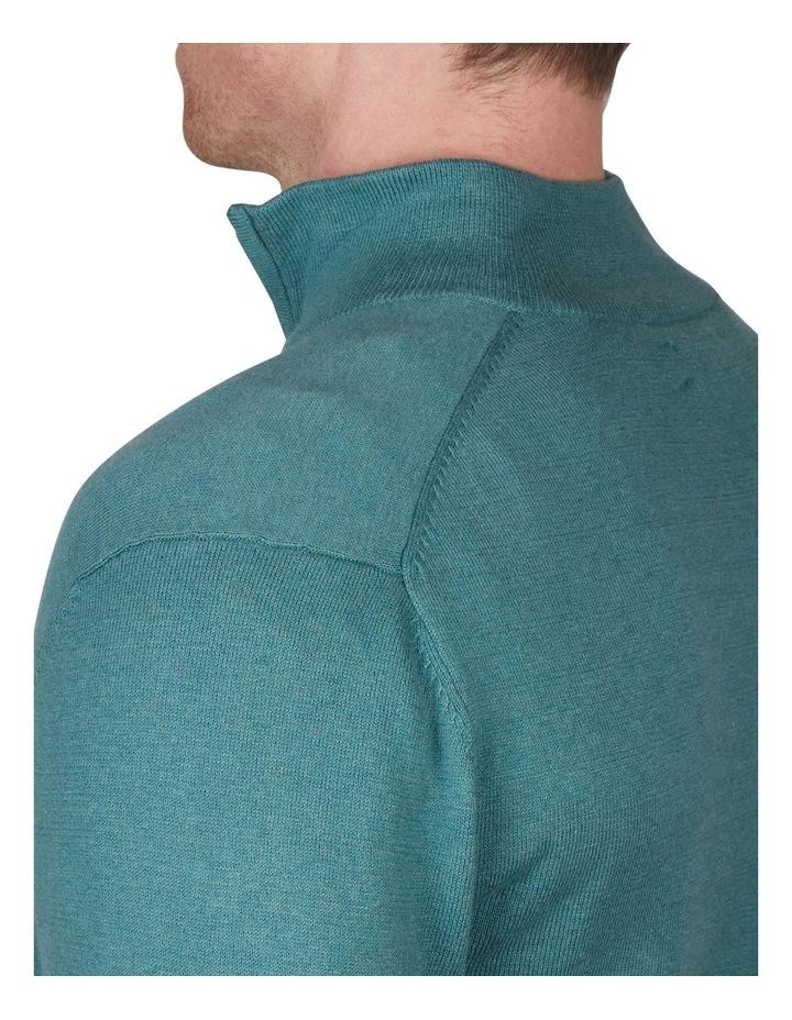 Cotton Cashmere 1/4 Zip Knit image 4