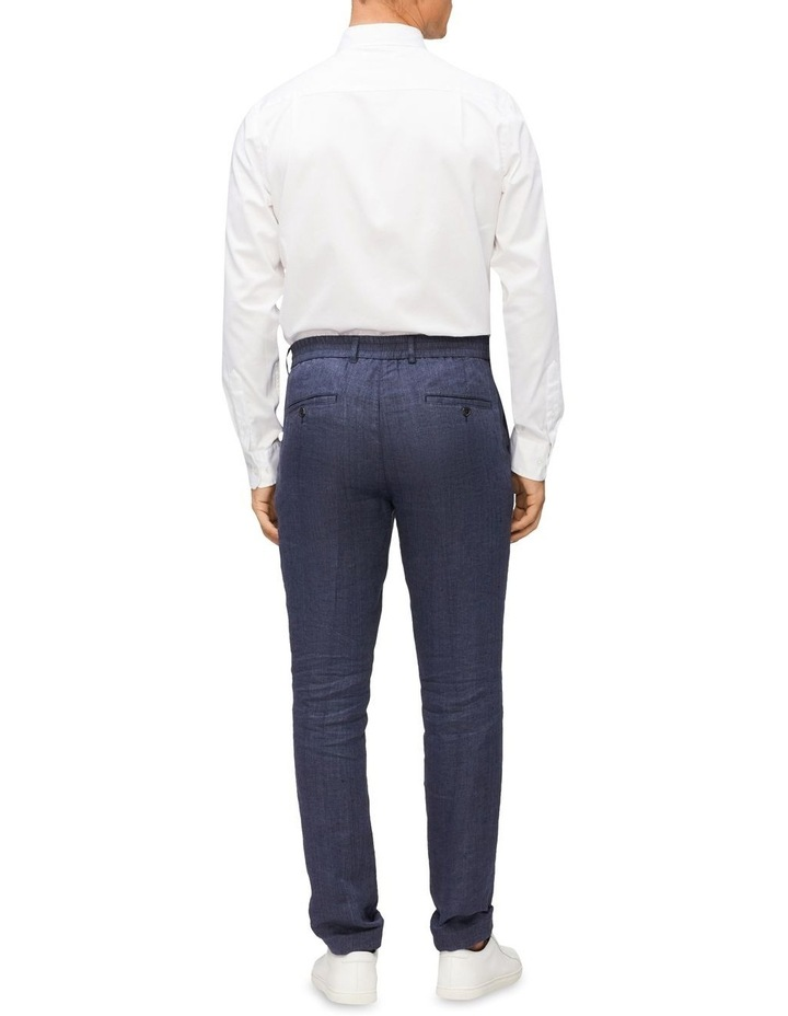 Casual Long Sleeve Sateen Shirt White image 4