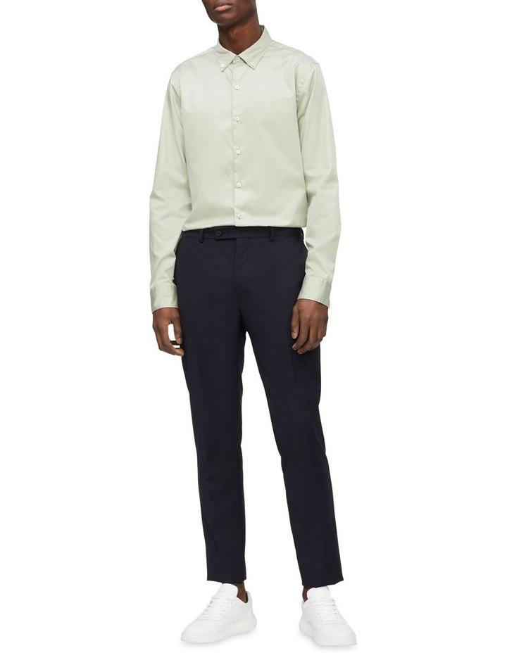Casual Long Sleeve Sateen Shirt image 3