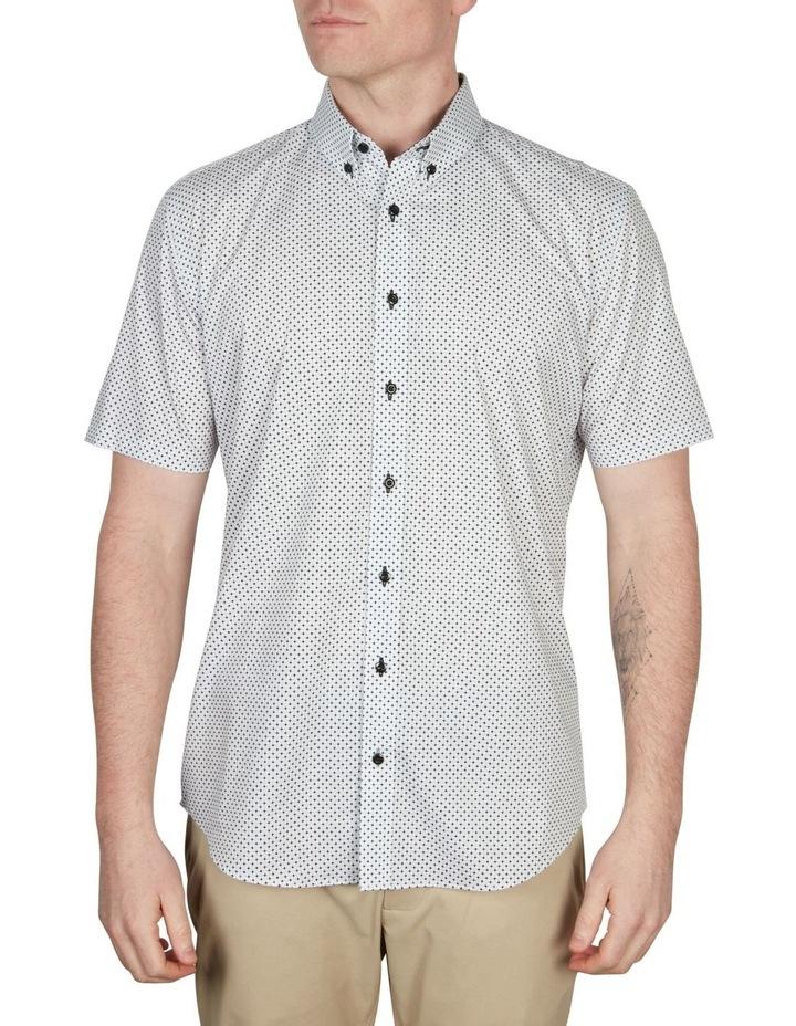 Diamond Print Short Sleeve Shirt image 1