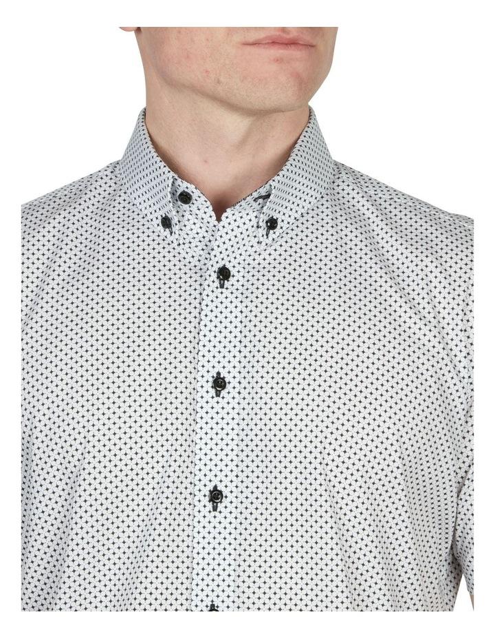 Diamond Print Short Sleeve Shirt image 2