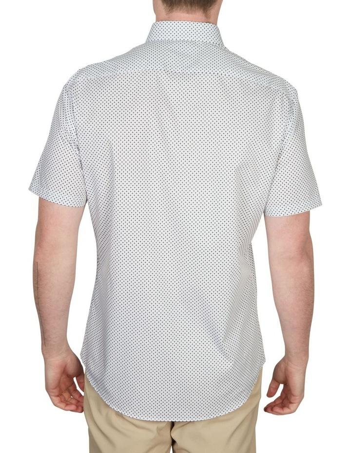 Diamond Print Short Sleeve Shirt image 3