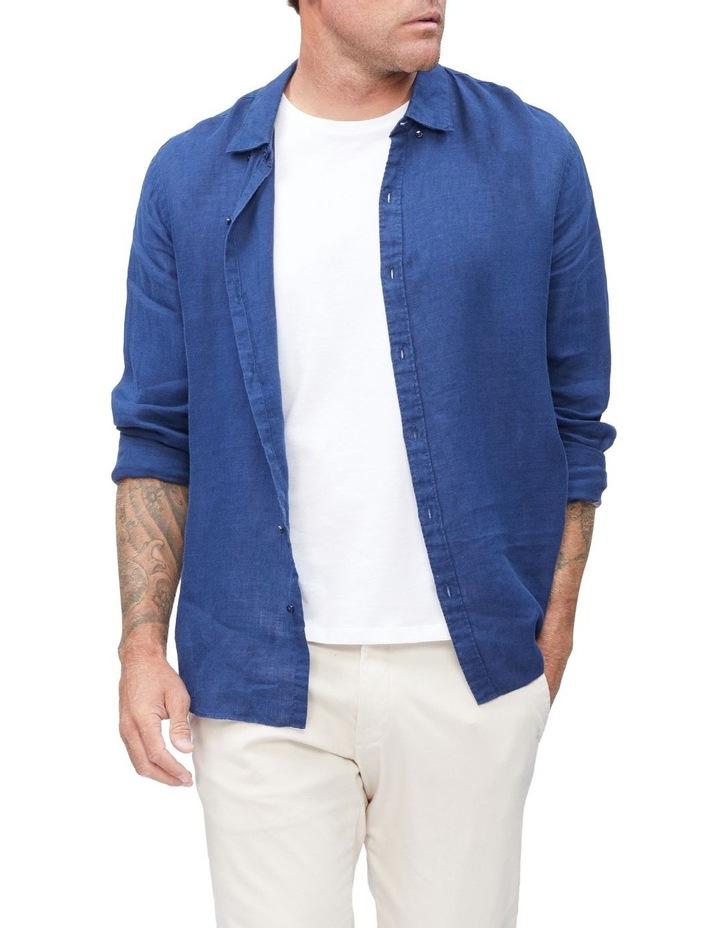 Textured Linen Blend Shirt image 2
