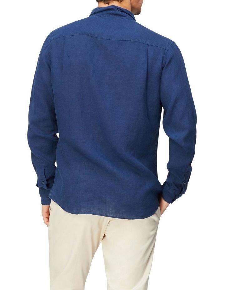 Textured Linen Blend Shirt image 3