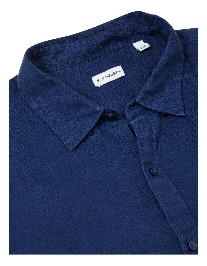 Textured Linen Blend Shirt image 5