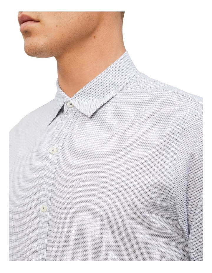 Diamond Print Slim Fit Business Shirt image 2
