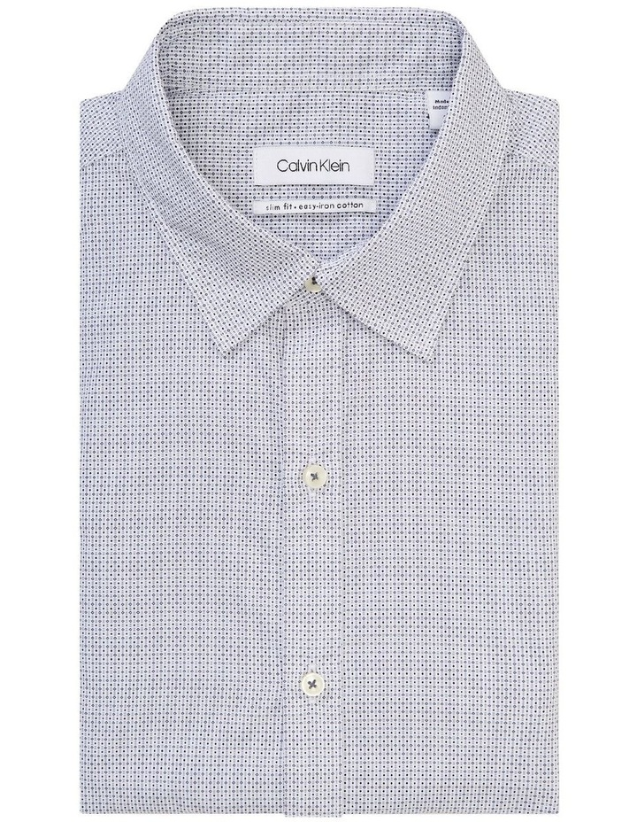 Diamond Print Slim Fit Business Shirt image 5