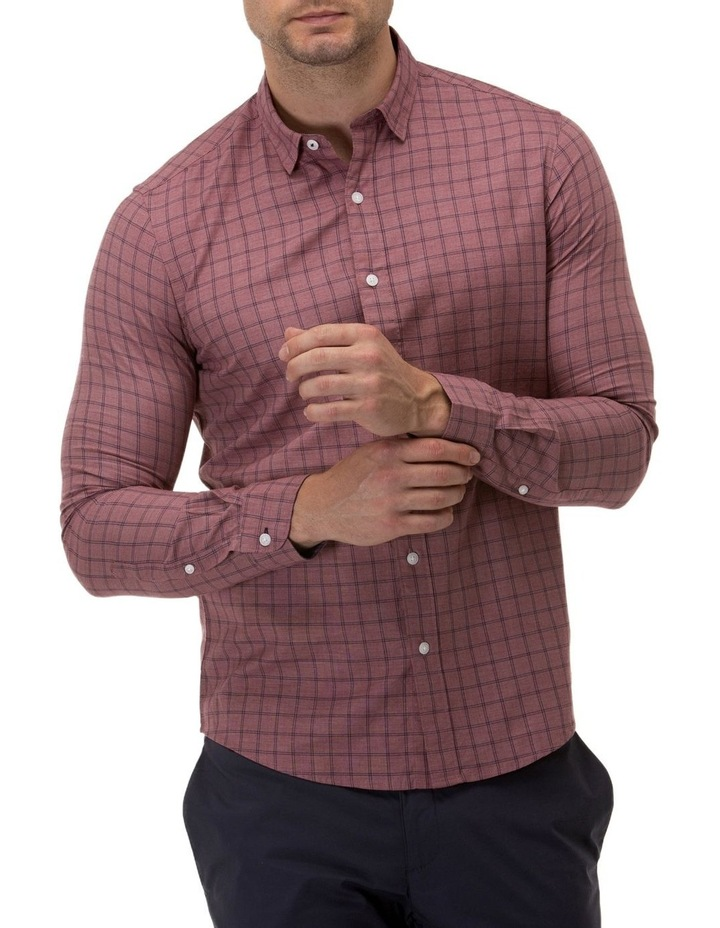 Brushed Two Tone Check Casual Shirt image 1