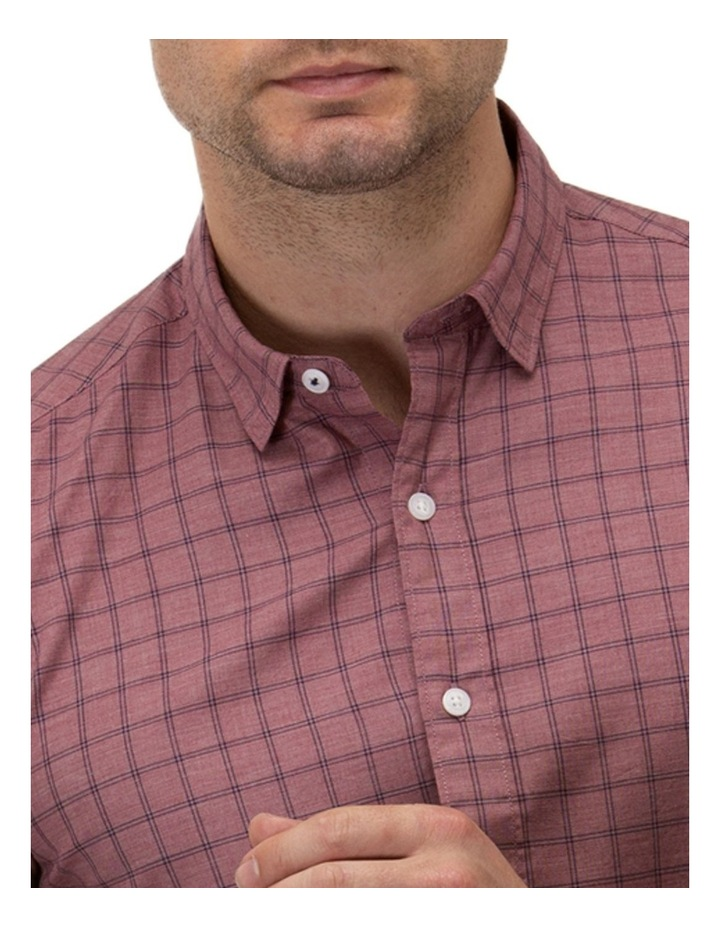 Brushed Two Tone Check Casual Shirt image 2