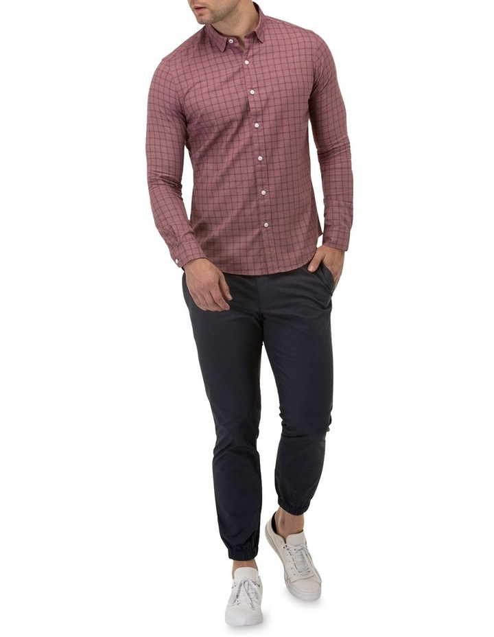 Brushed Two Tone Check Casual Shirt image 4