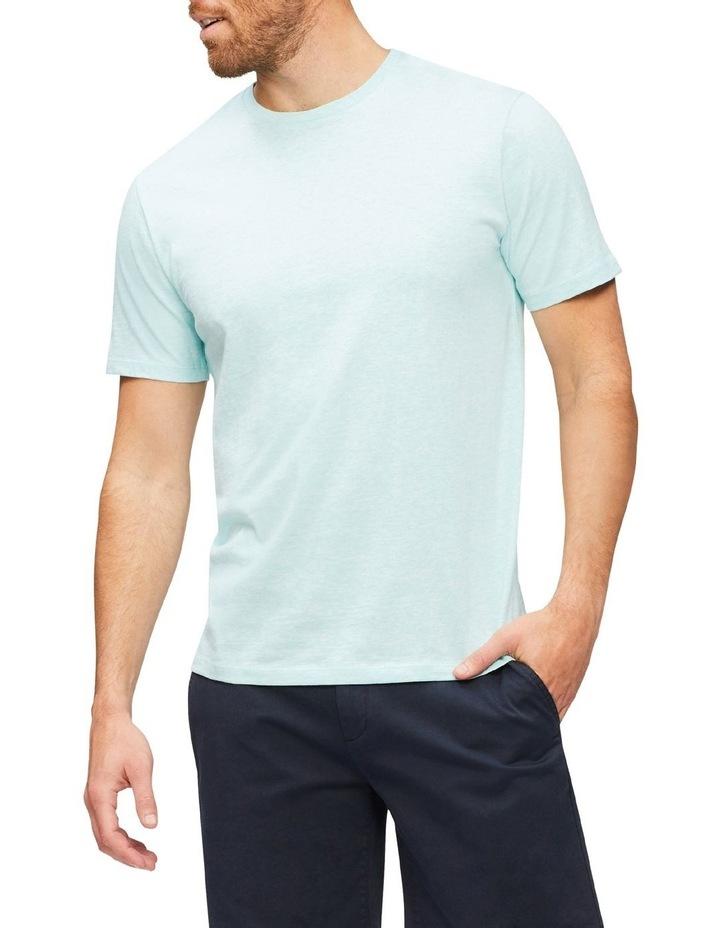 Marle Pima Cotton T-Shirt Aqua image 1