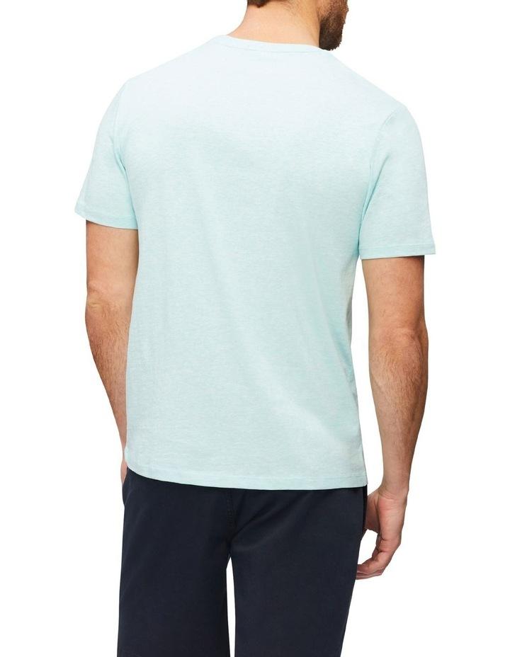 Marle Pima Cotton T-Shirt Aqua image 2