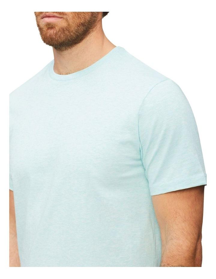 Marle Pima Cotton T-Shirt Aqua image 3