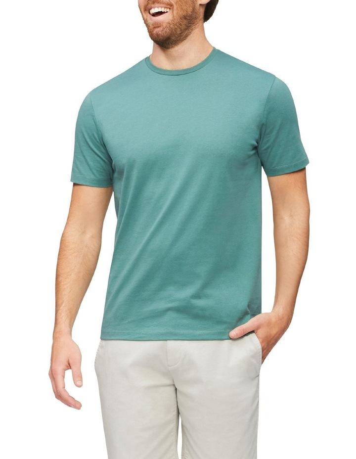 Pima Cotton T-Shirt Velvet Pine image 1