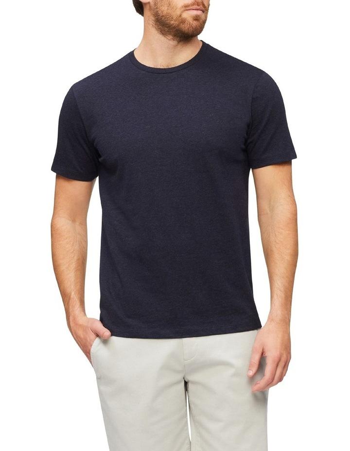 Marle Pima Cotton T-Shirt Indigo image 1
