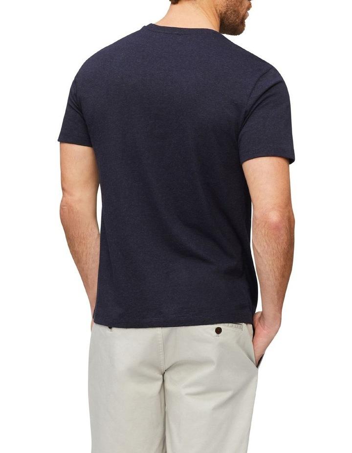 Marle Pima Cotton T-Shirt Indigo image 2