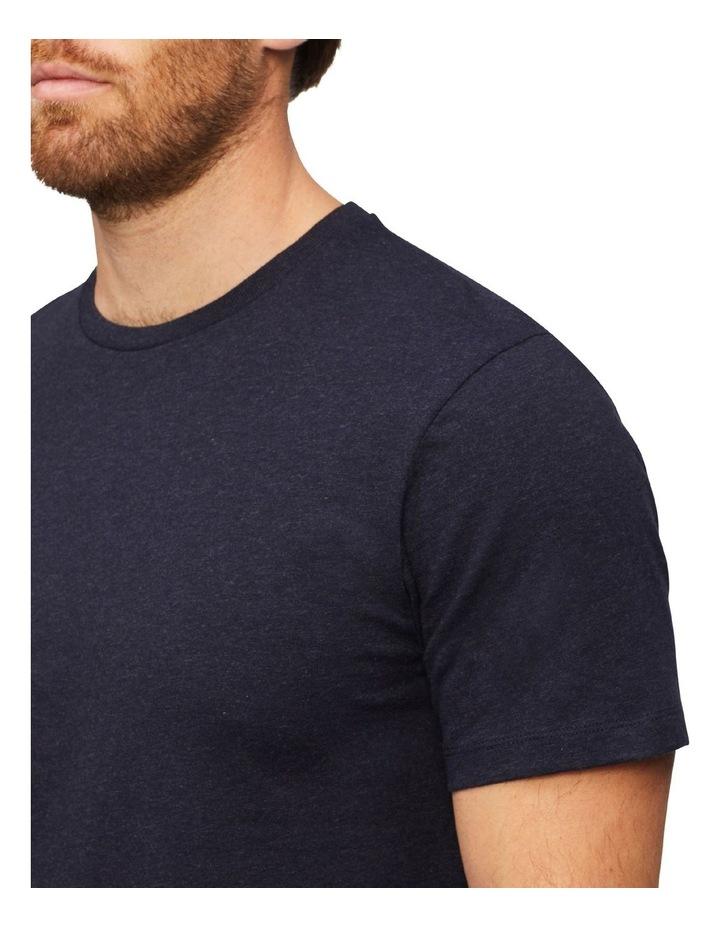 Marle Pima Cotton T-Shirt Indigo image 3