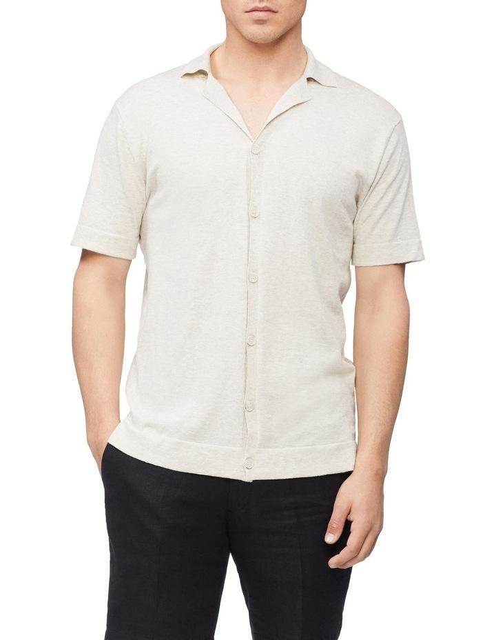 Knitted Short Sleeve Shirt image 1