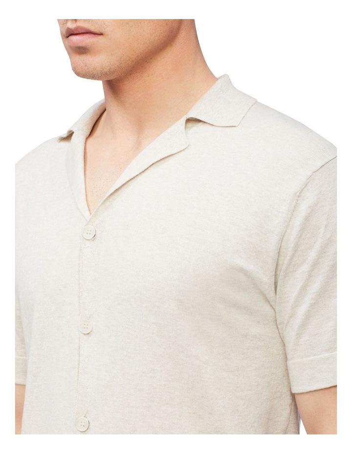 Knitted Short Sleeve Shirt image 3