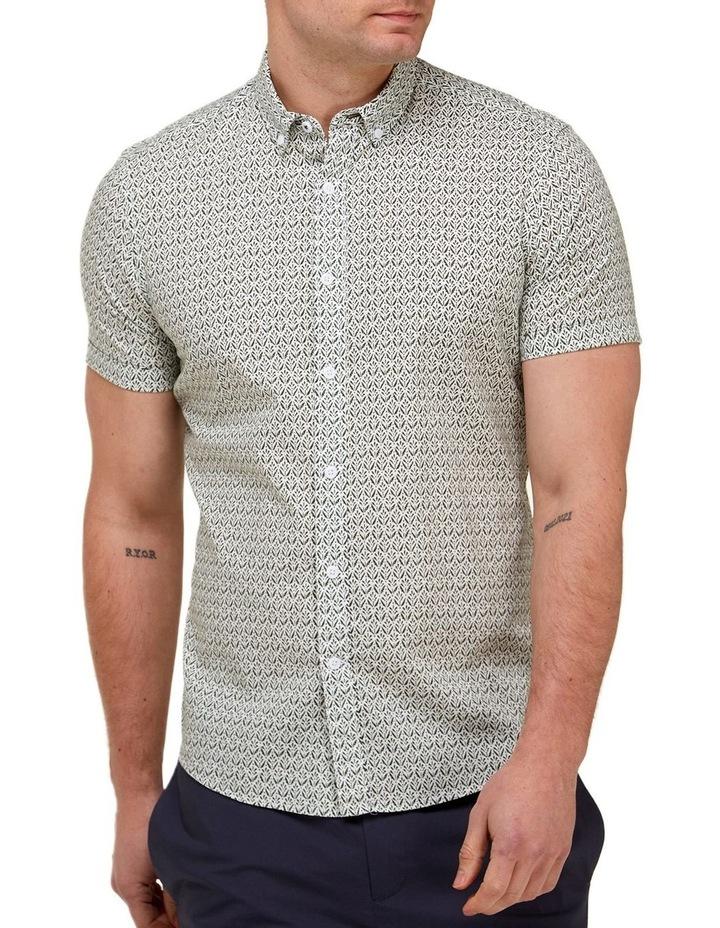 Abstract Print Casual Shirt image 1