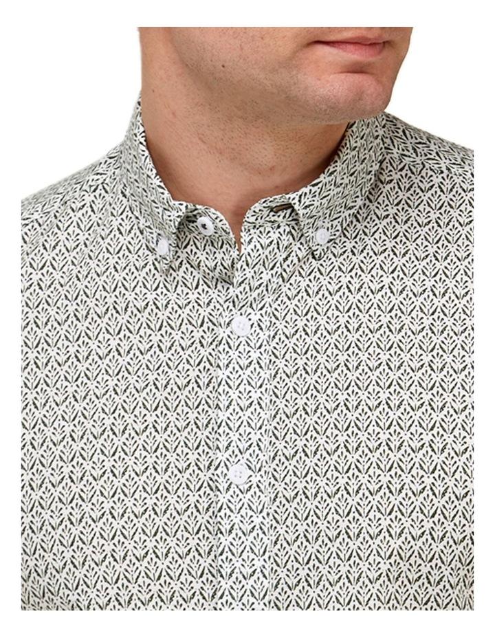 Abstract Print Casual Shirt image 2