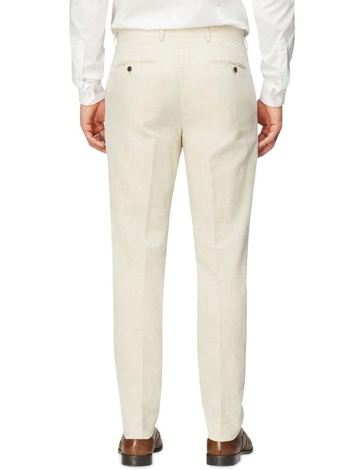 Linen Blend Suit Trouser image 2