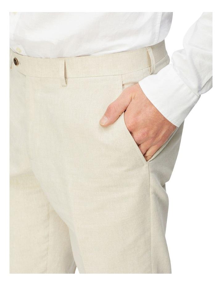 Linen Blend Suit Trouser image 3