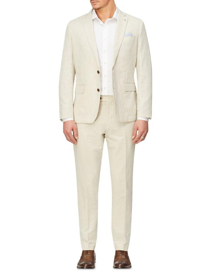 Linen Blend Suit Trouser image 4