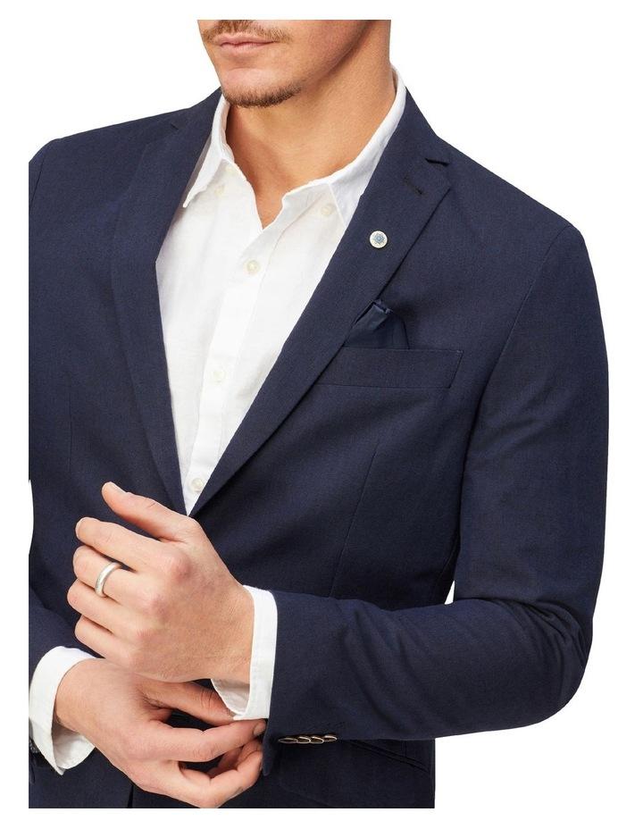 Linen Blend Suit Jacket image 2