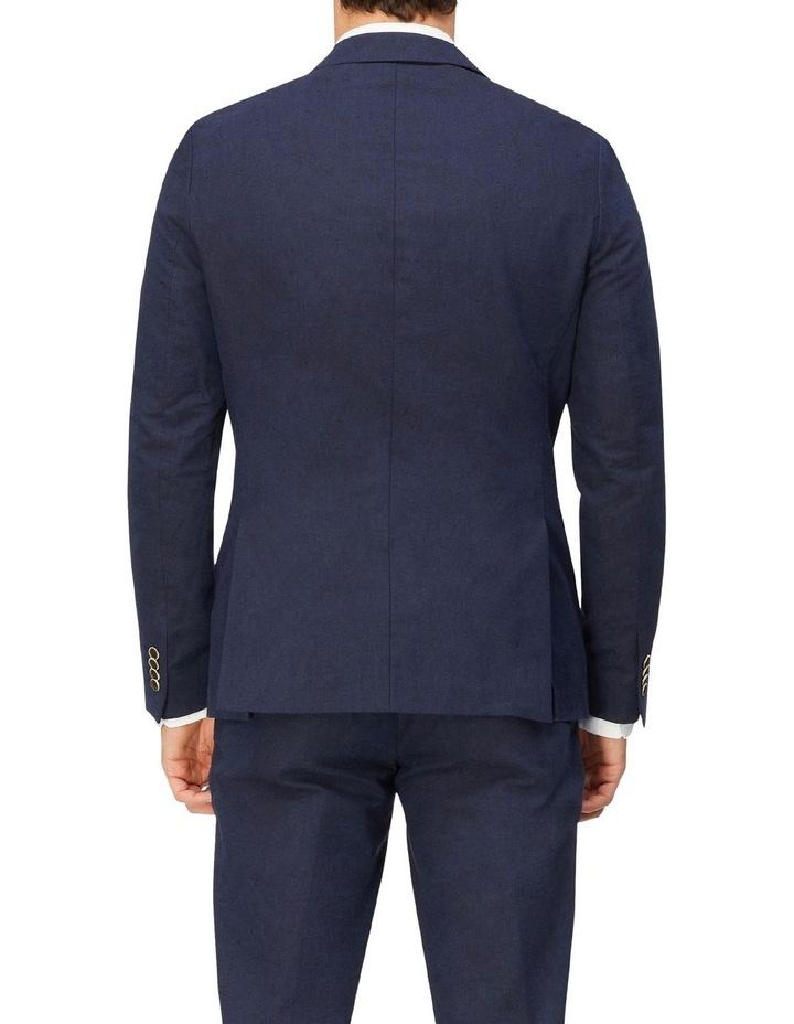 Linen Blend Suit Jacket image 3