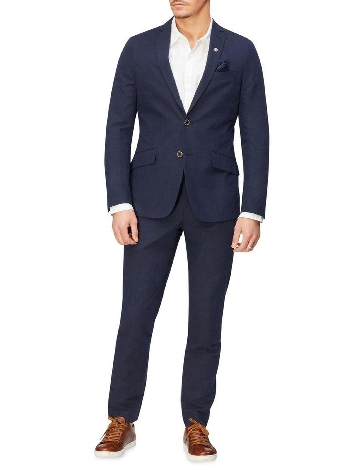 Linen Blend Suit Jacket image 4