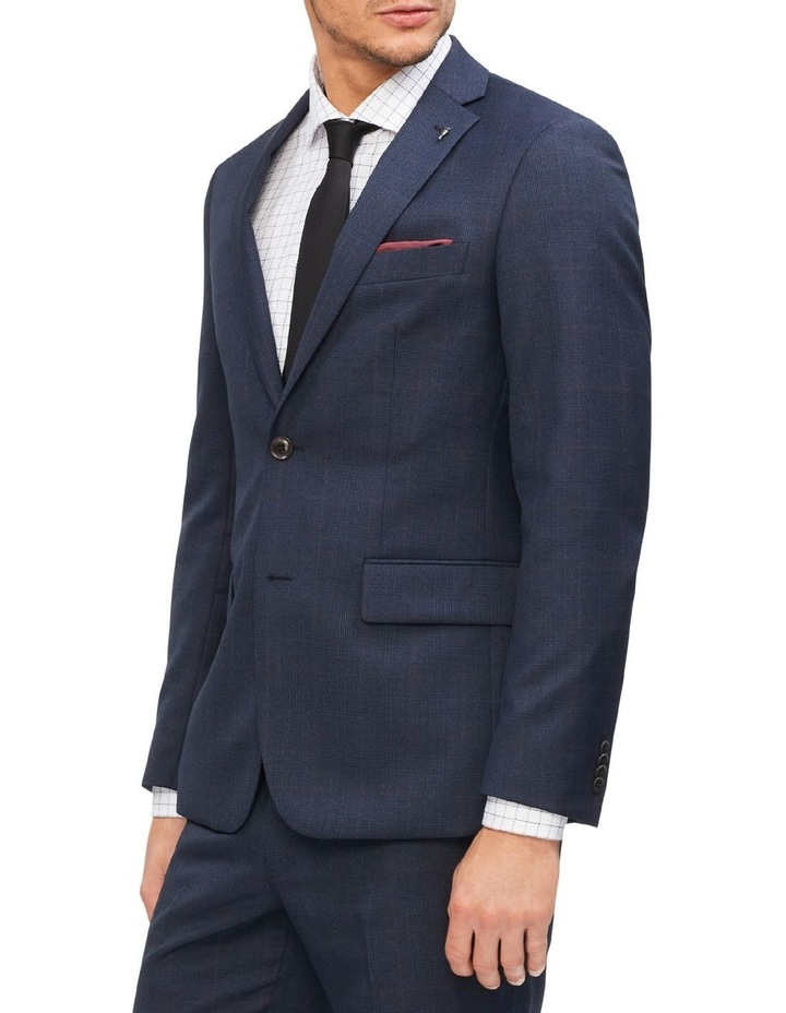 Tailored Check Suit Jacket image 1