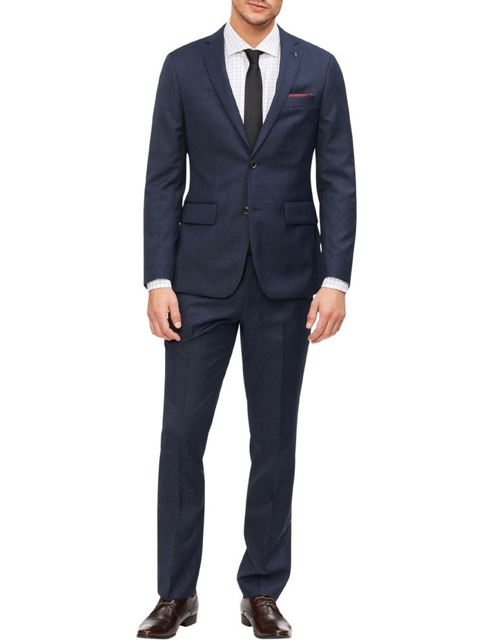 Tailored Check Suit Jacket image 2