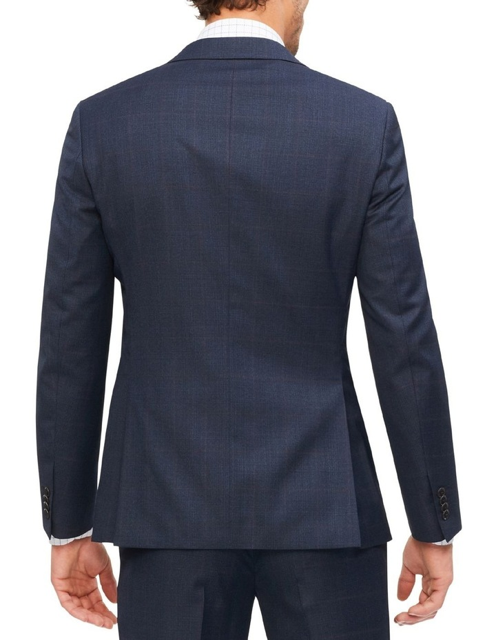 Tailored Check Suit Jacket image 3