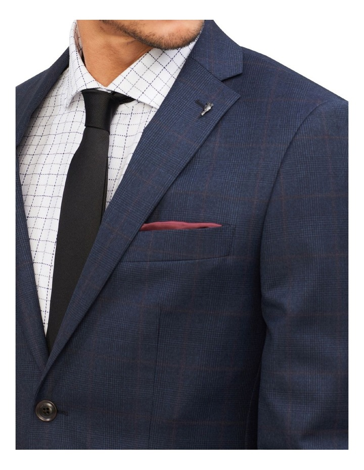 Tailored Check Suit Jacket image 4