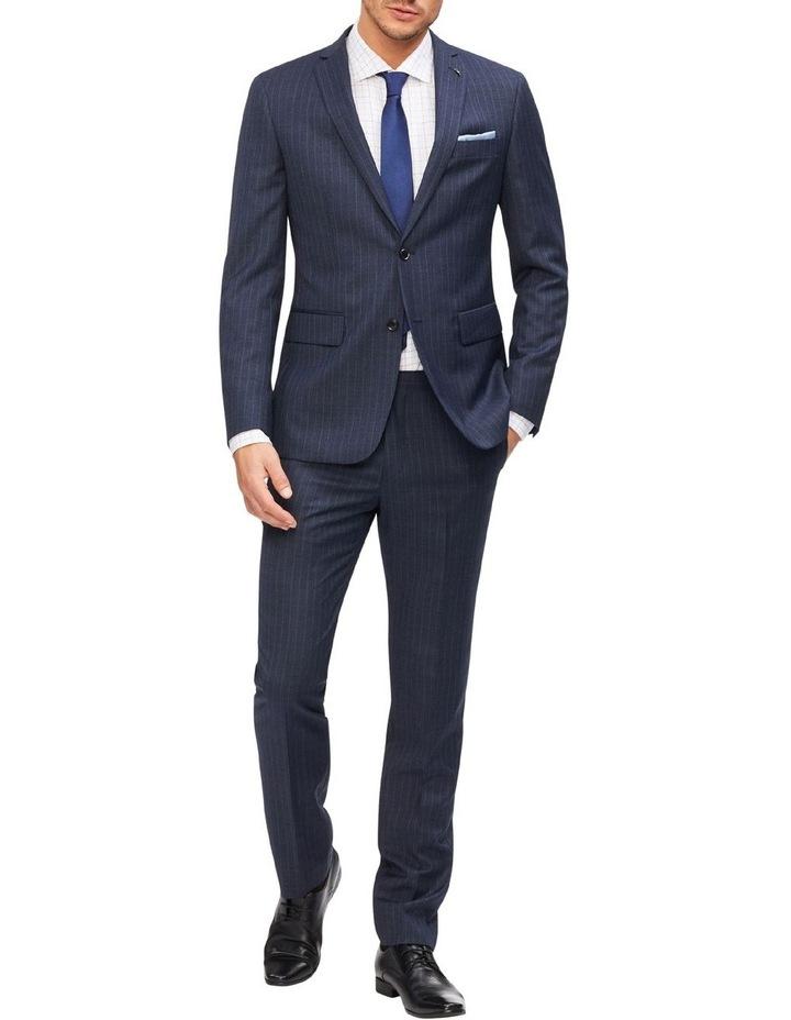 Slim Pinstripe Suit Jacket image 2