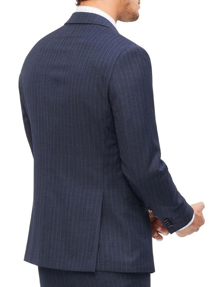 Slim Pinstripe Suit Jacket image 3