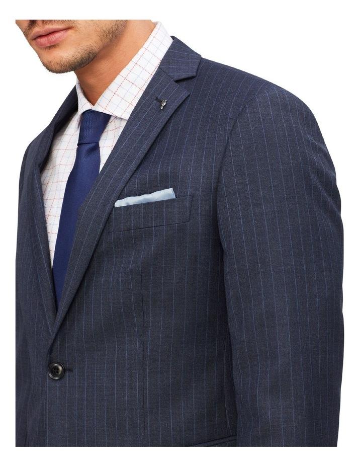 Slim Pinstripe Suit Jacket image 4