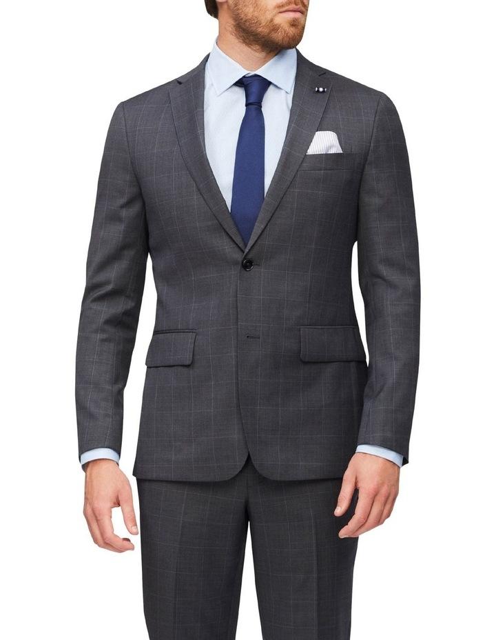 Tailored Window Pane Suit Jacket image 1